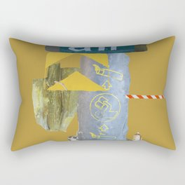 Air - Texture Study - ONE Rectangular Pillow