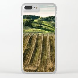 Fine Vines Clear iPhone Case