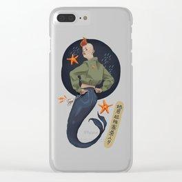 Mermaid Power Clear iPhone Case