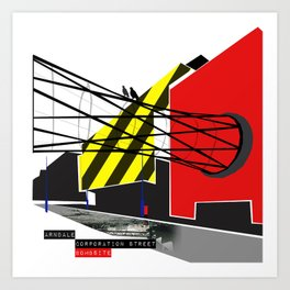 Corporation Art Print