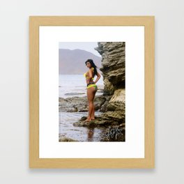 [ BIODIVERSE.CO ] Colombian Exotic Sexy Girl Framed Art Print