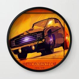 Camaro SS '69 Wall Clock