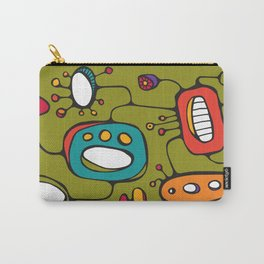 Scribbles 02 in Color Carry-All Pouch