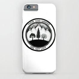 Wanderling Woods iPhone Case