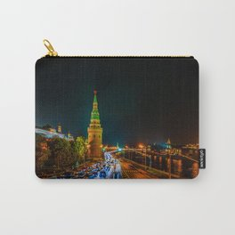 Moscow Kremlin At Night Carry-All Pouch