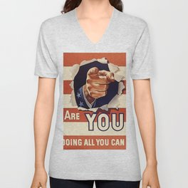 Are You Doing All You Can? Unisex V-Neck