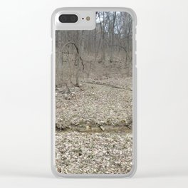 Leaves in fall Clear iPhone Case