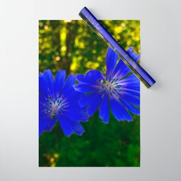 The Blue flowers Wrapping Paper