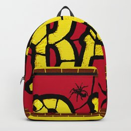 BAR AND SPIDERS VINTAGE SIGN Backpack