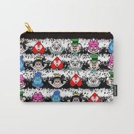 We're all mad here emojis Carry-All Pouch