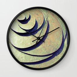 Untitled Bronze - Gouda - NL Wall Clock