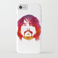 dave grohl iPhone & iPod Cases featuring D. Grohl by Fimbis
