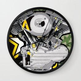Harley of One Wall Clock