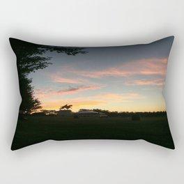 Sunset on Art Hill Rectangular Pillow
