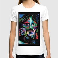 dave grohl T-shirts featuring Self portrait as Dave Grohl by brett66