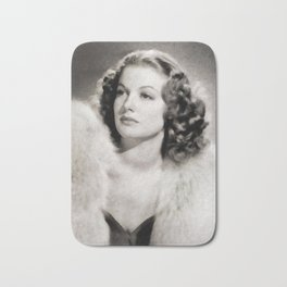 Ann Sheridan, Vintage Actress Bath Mat