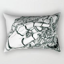 That Tingly Feeling Rectangular Pillow