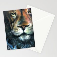 Lion in the Clouds Stationery Cards