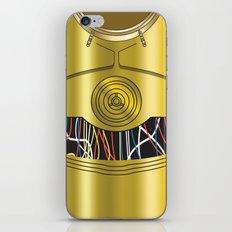 Star Wars C3PO Vector iPhone & iPod Skin
