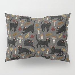 autumn cat magic Pillow Sham