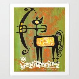 Sagittarius Print Art Print