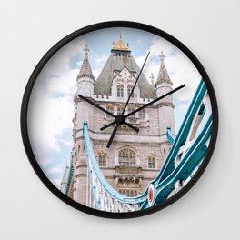 London's Tower Bridge Wall Clock