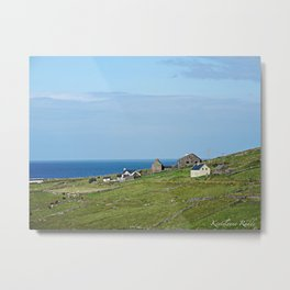 Overlook the Edge Metal Print