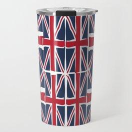 Union Jack flag pattern Travel Mug