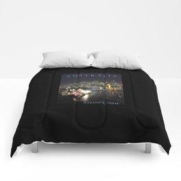 Sydney Night Lights Comforters