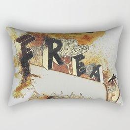 Freak! Rectangular Pillow