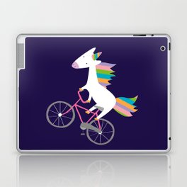 bike unicorn  Laptop & iPad Skin