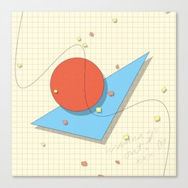 Math Class by Jens Ingelse Canvas Print