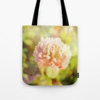 clover Tote Bags featuring Clover by Magic Emilia