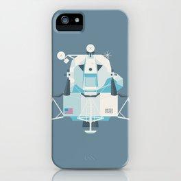 Apollo 11 Lunar Lander Module - Plain Slate iPhone Case