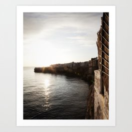Coast Sunrise Art Print