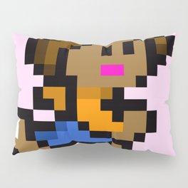 Pixel Girl Running 4 Pillow Sham
