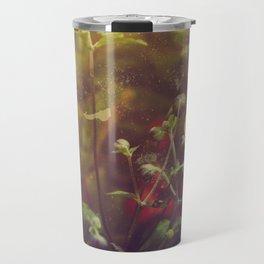Textured Anemone (Cool Colors) Travel Mug