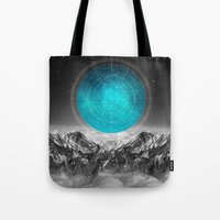 not all those who wander are lost Tote Bags featuring Not All Those Who Wander by soaring anchor designs