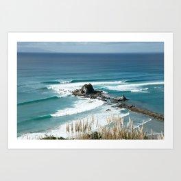 Sandbar Perfection Art Print
