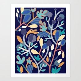 Branching Art Print