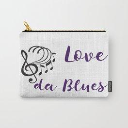 Love da Blues Carry-All Pouch