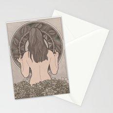 Nouveau Back Stationery Cards