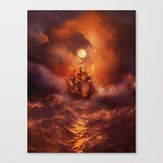 Perfect storm. Canvas Print