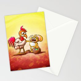Easter Bunny in Trouble Stationery Cards