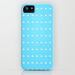 Little Clouds iPhone Case