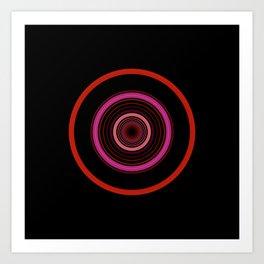 orbital 7 Art Print