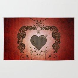 Wonderful heart Rug
