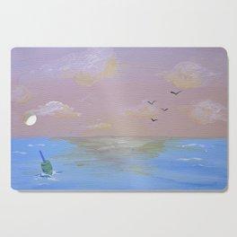 Sunset on the Beach Cutting Board