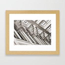 Landmark Toppers Framed Art Print