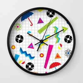 Breaking Atoms Wall Clock